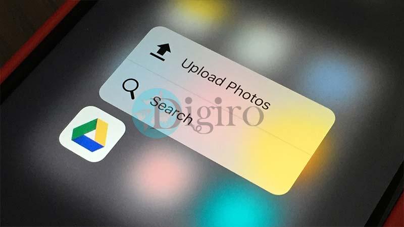 گوگل درایو 3d touch