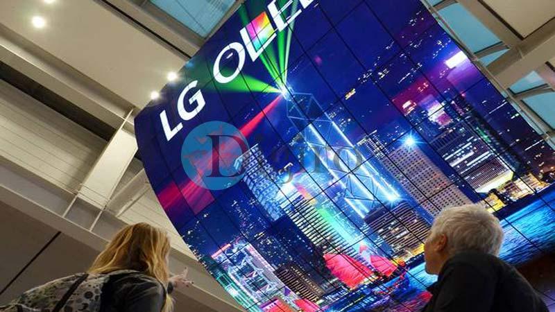 بزرگترین OLED جهان