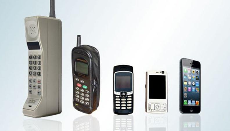 سیر تکاملی تلفن همراه از ابتدا تا کنون