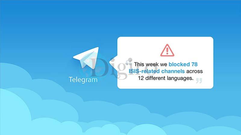 مسدود شدن 78 کانال تلگرام داعش
