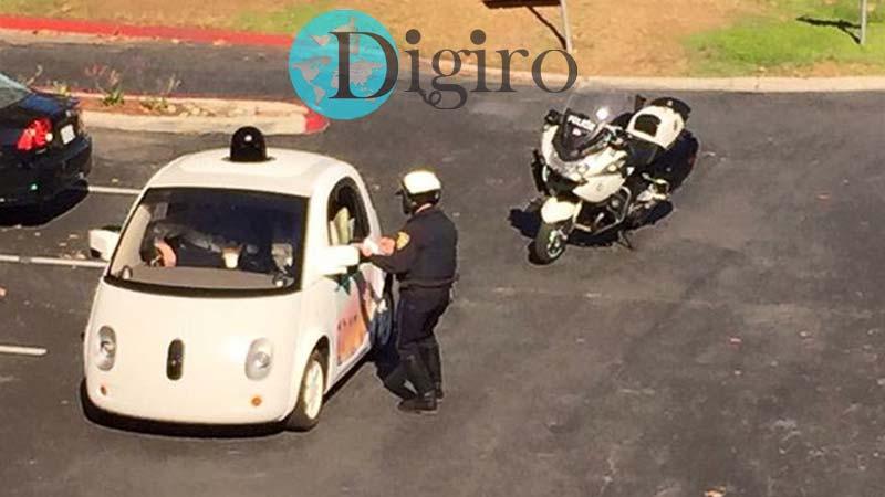 جریمه خودرو بدون راننده گوگل