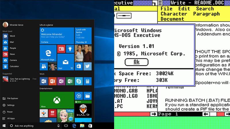 مروری بر تاریخچه ویندوز، به مناسبت تولد ۳۰ سالگی این سیستم عامل