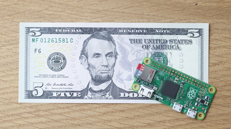 کامپیوتر جدید Raspberry Pi فقط 5 دلار قیمت دارد!