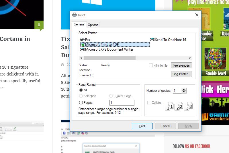 ذخیره pdf در مرورگر مایکروسافت اج