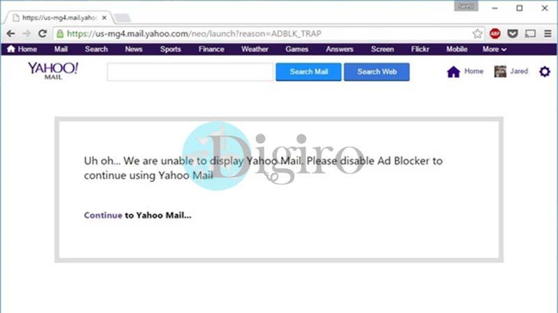 سیاست جدید یاهو در قبال افزونه AdBlock Plus