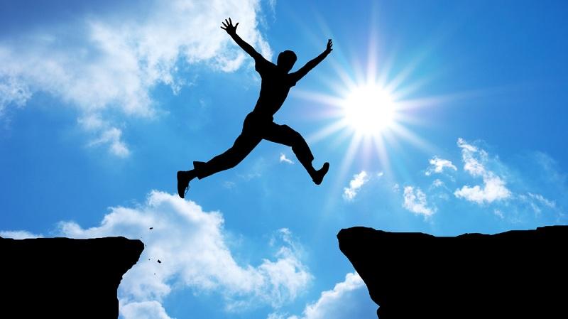 برای رسیدن موفقیت باید از موانع پرید