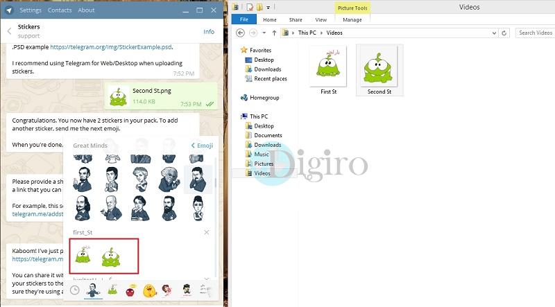 آموزش تصویری دوخت انواع استیکر آموزش ساخت استیکر برای تلگرام حرفهای اما مثل آب خوردن ...