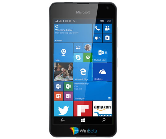 Microsoft Lumia 650 in Black