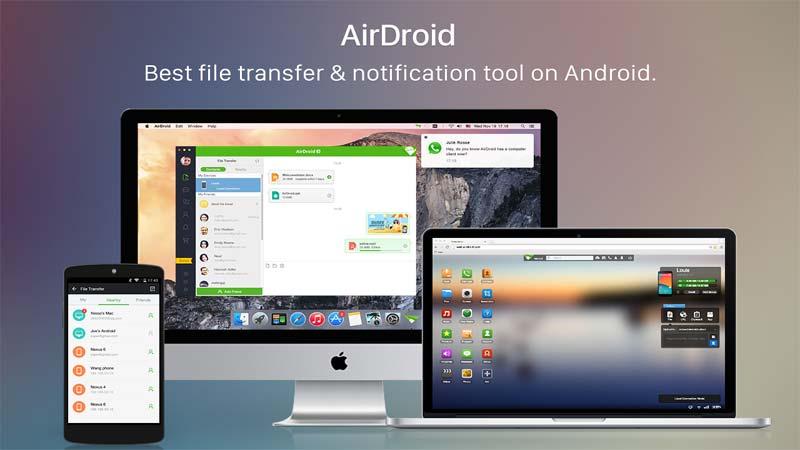 اپلیکیشن Airdroid