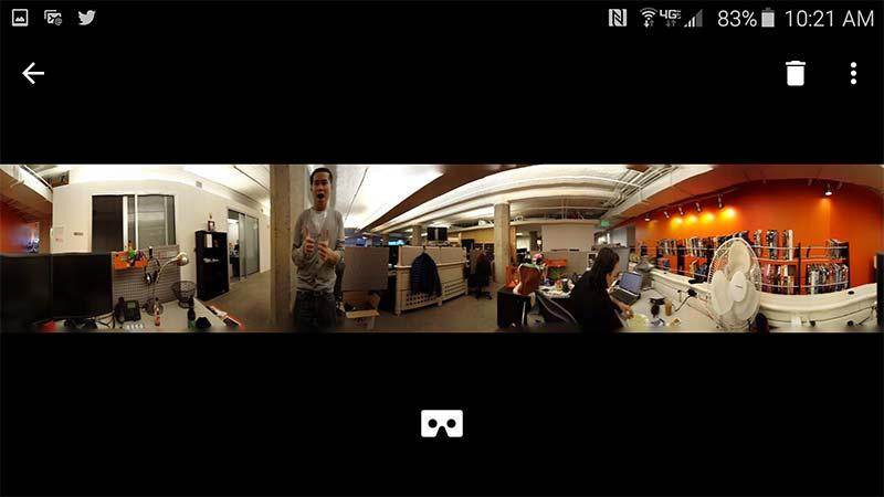 دوربین گوگل کارت