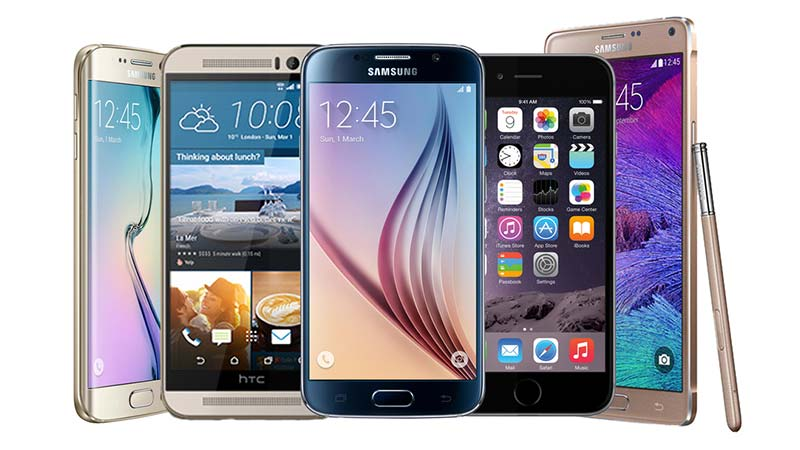 فروش کلی تلفنهای هوشمند در سه ماهه سوم سال 2015