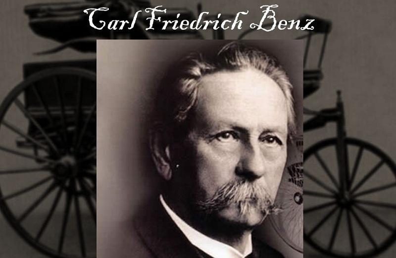 کارل فریدریش بنز، مخترع اولین اتومبیل بنزینی