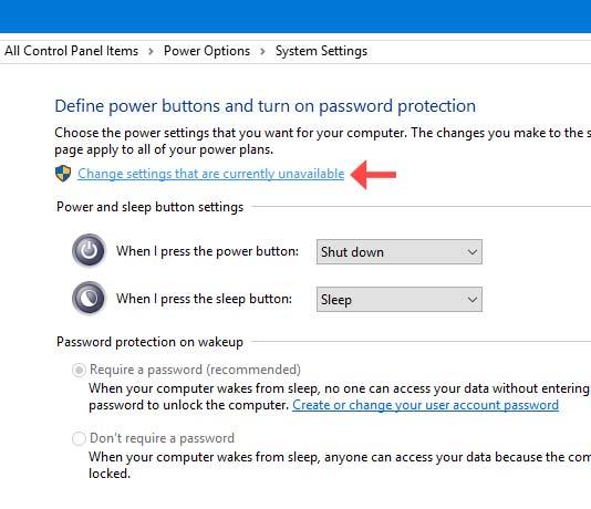 اضافه کردن گزینه Hibernate به استارت ویندوز 10