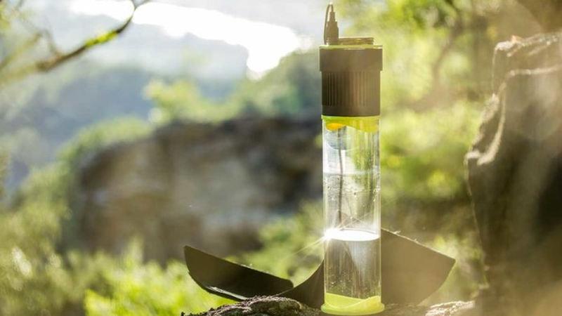 بطریای که به طور مداوم آب تولید می کند!