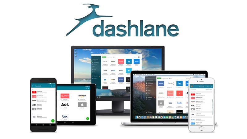 مدیریت رمزعبور DashLane