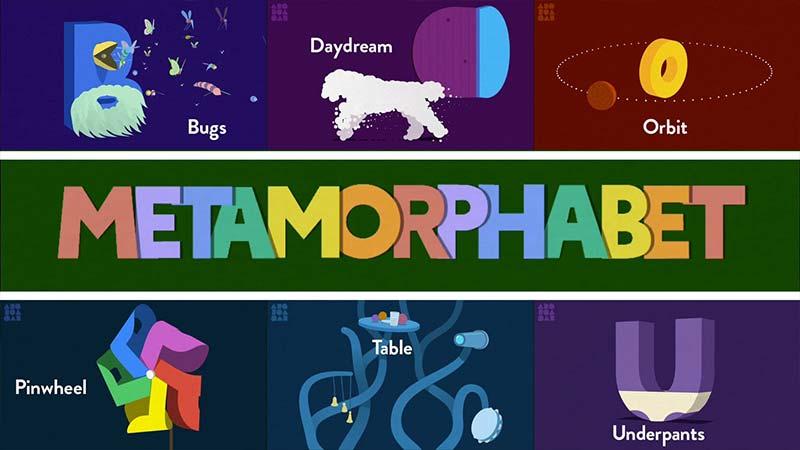 آموزش زبان انگلیسی Metamorphabet