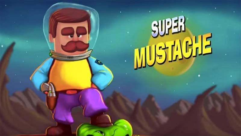 بازی Super Mustache
