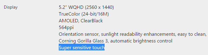 Super-sensitive-touch