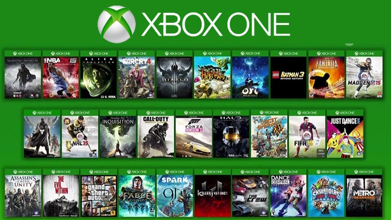 games on xbox one marketplace