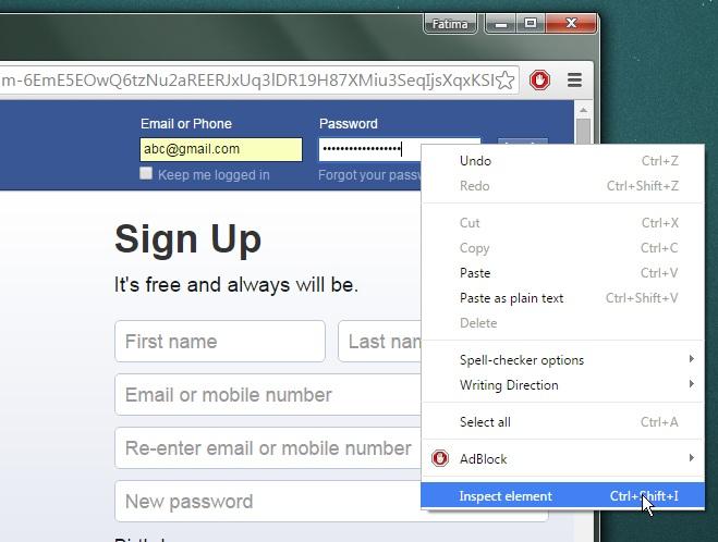 آموزش نمایش رمزهای عبور ذخیره شده در مرورگر