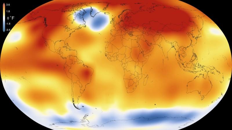 2015 رکورد گرمترین سال دو قرن گذشته را شکست!