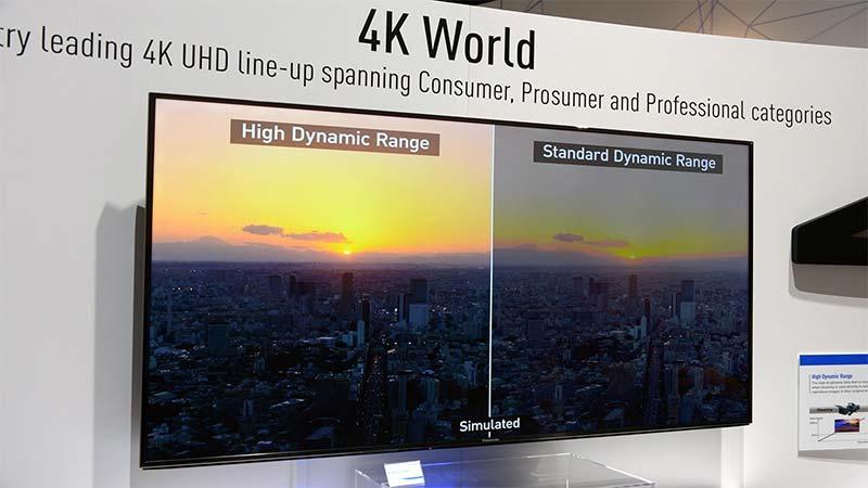 تلوزیونهای HDR