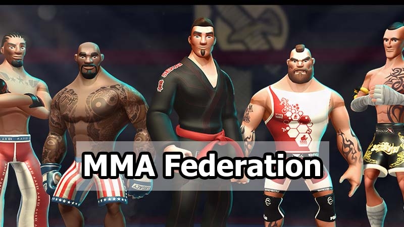 بازی MMA Federation