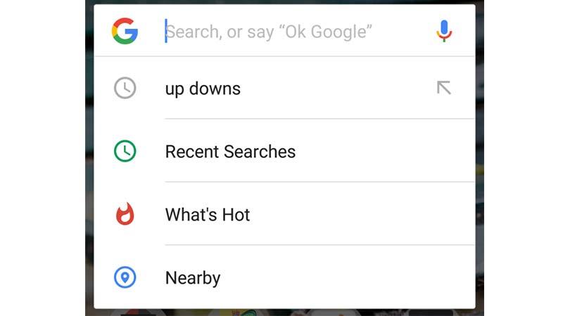 نوار جستجوی گوگل