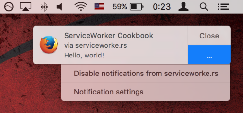 firefox 44 notifications