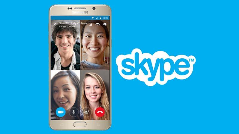 تماس تصویری گروهی اسکایپ