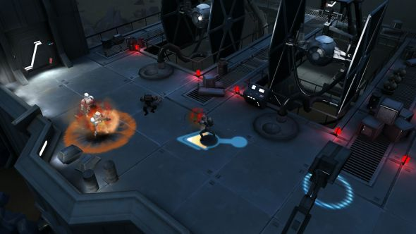 بازی star wars uprising