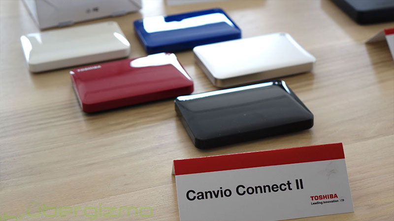 هارد اکسترنال توشیبا Canvio Connect II