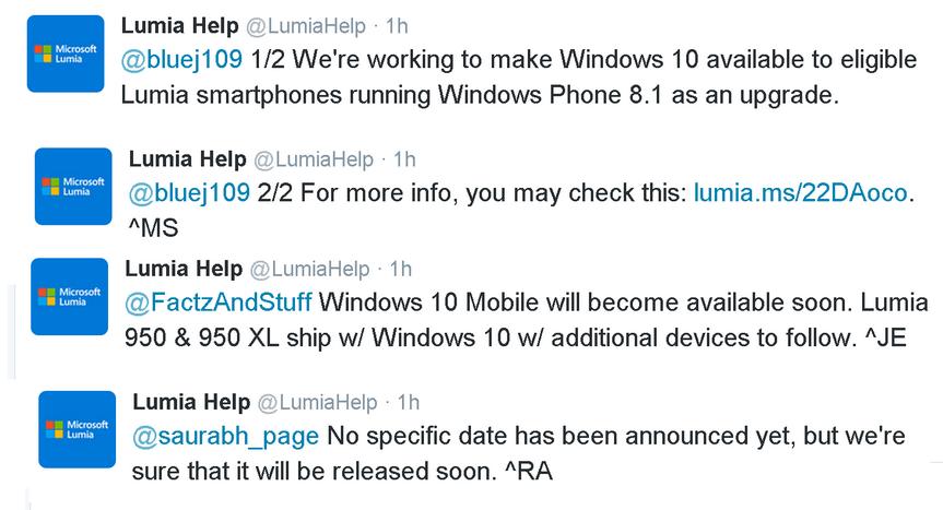 مایکروسافت: آپدیت ویندوز 10 موبایل به زودی ار راه می رسد