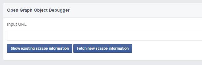 شناسایی نشدن لینک به عنوان یک URL در فیسبوک