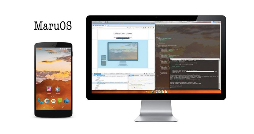 با MaruOS گوشی اندرویدی خودتان را به یک دسکتاپ لینوکسی ...