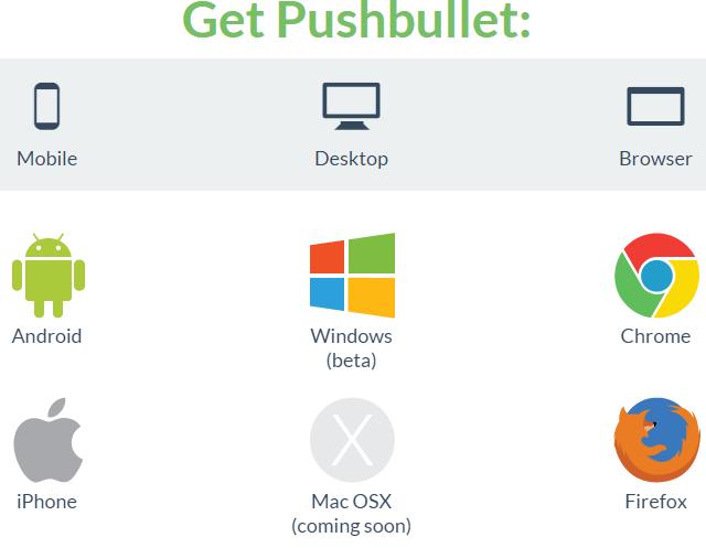 راه اندازی Pushbullet