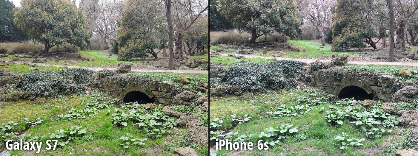 مرحله 1 مقایسه دوربین گلکسی اس 7 و آیفون 6 اس