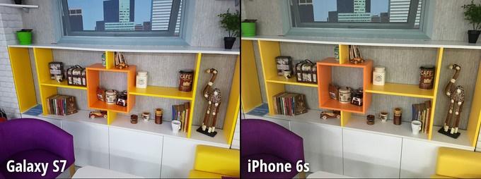 مرحله 5 مقایسه دوربین گلکسی اس 7 و آیفون 6 اس