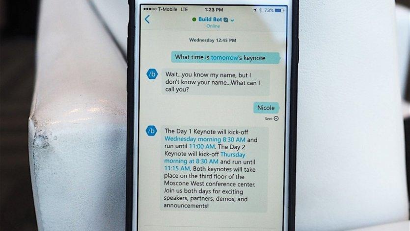 ربات های چت کننده به اسکایپ آمدند؛ از کورتانا بپرسید!
