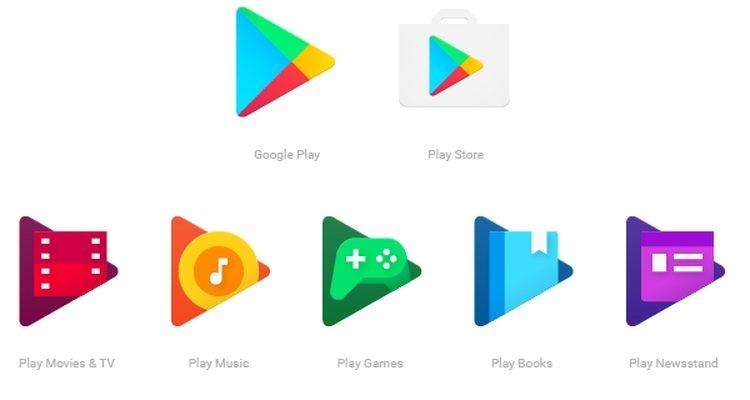آیکونهای جدید در راه اپلیکیشنهای متصل به گوگل پلی