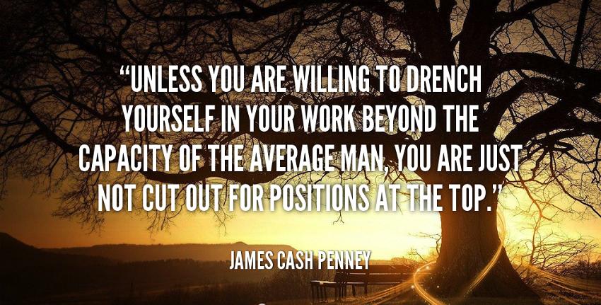 سخنی از بنیانگذار جی سی پنی