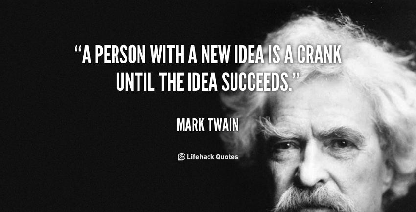 مارک تواین، نویسنده مشهور
