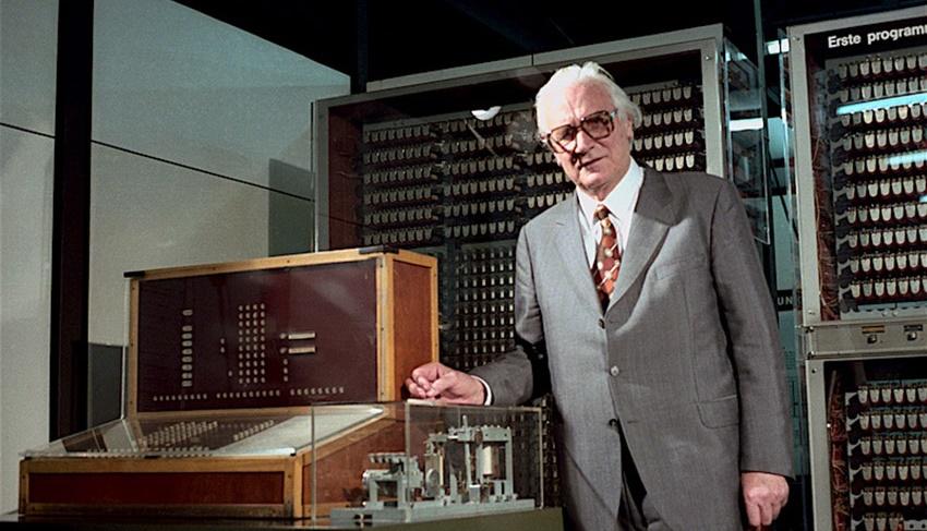 کنراد زوس، خالق اولین رایانه ی کامل جهان Z3