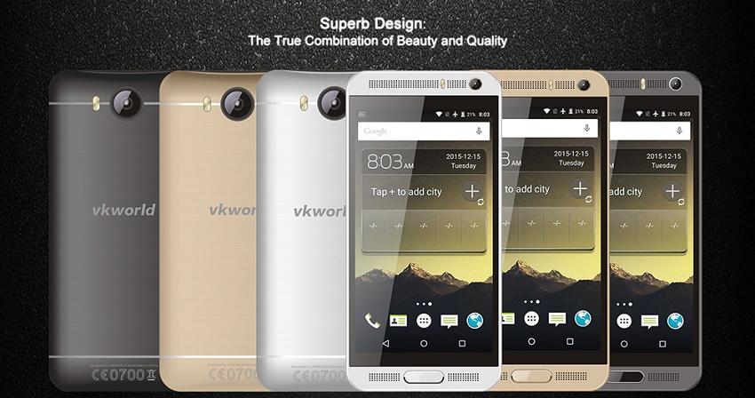 گوشی هوشمند VKWORLD VK800X