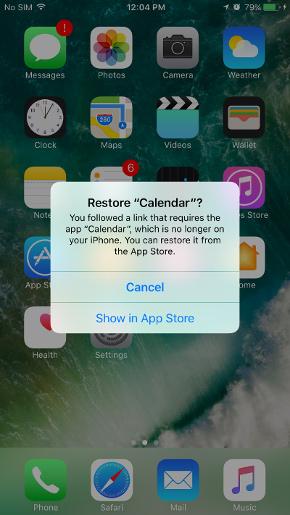 بازگردانی اپلیکیشن های اپل در ios 10