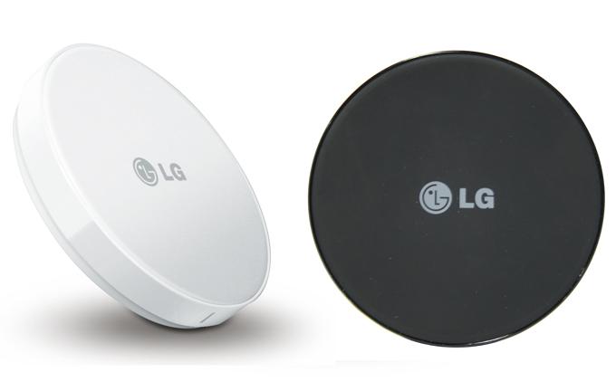 گوشی هوشمند ال جی با شارژر مغناطیسی