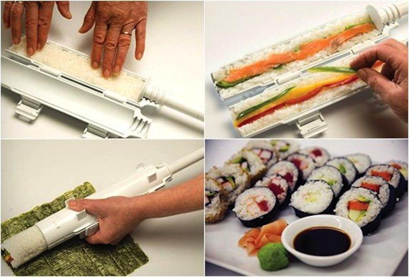 رول کننده سوشی برای تهیه آسان ماکی