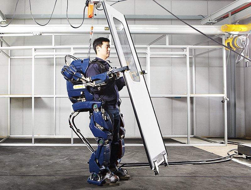 اسکلت رباتیک