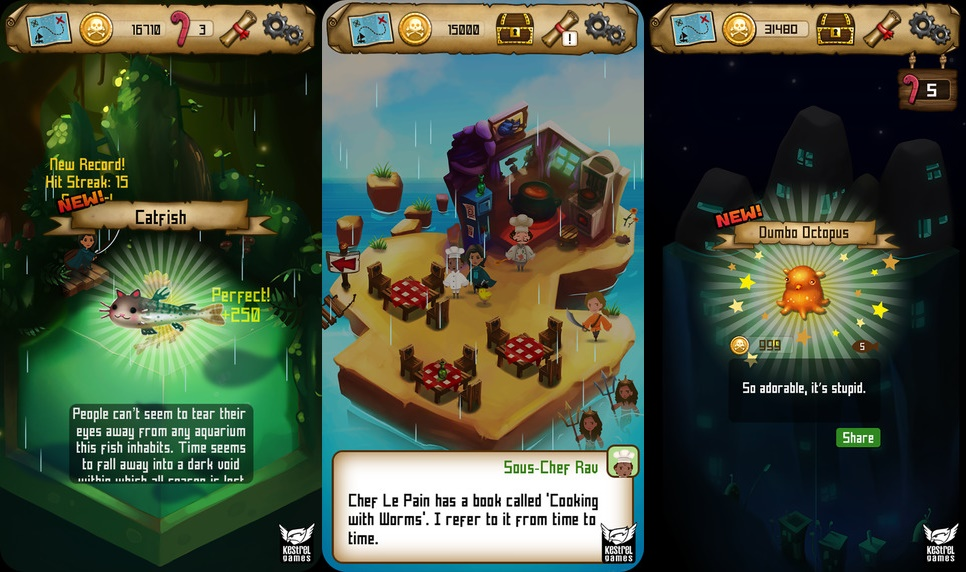 بازی Rule with an iron Fish
