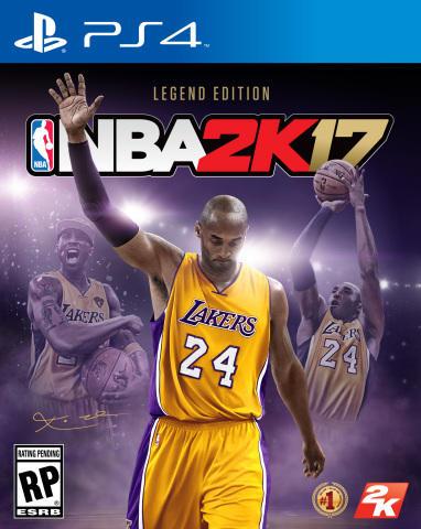پاول جرج روی جلد NBA 2K17